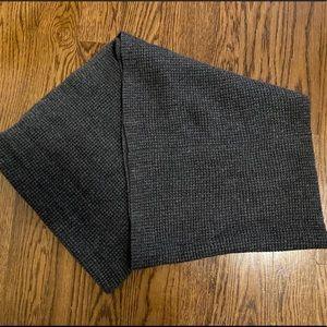 Grey Knit J. Crew infinity Scarf